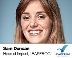 Sam Duncan LeapFrog Investments